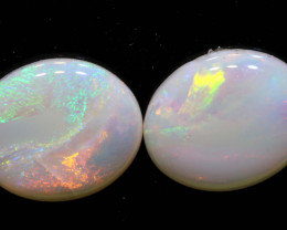 5.46 CTS 12 X 10   COOBER PEDY WHITE OPAL CUT STONE LO-6493