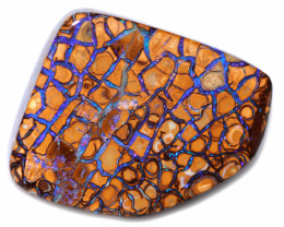 70.61 CTS BLUE TRIBLE PATTERN YOWAH STONES [PS598]