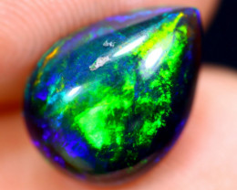 2.38cts Natural Ethiopian Welo Smoked Opal / HM1881