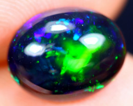 1.69cts Natural Ethiopian Welo Smoked Opal / HM1890