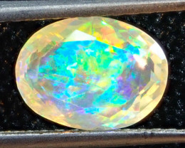0.94ct Facetted Fire Opal