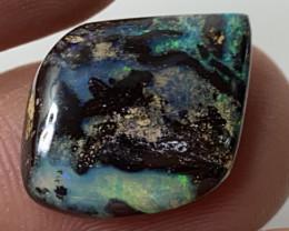 Rare Black Boulder Matrix From Jundah