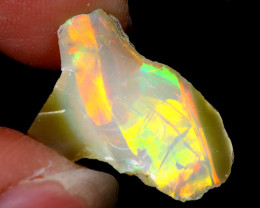 6cts Natural Ethiopian Welo Rough Opal / WR6284