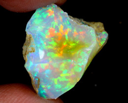 17cts Natural Ethiopian Welo Rough Opal / WR6286