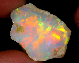 10cts Natural Ethiopian Welo Rough Opal / WR6290