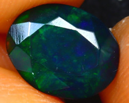 Welo Opal 1.05Ct Natural Ethiopian Smoked Welo Opal H1009/A28