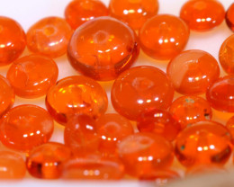 5 CTS -MEXICAN  FIRE OPAL BEADS FOB-2429-fireopalbeads