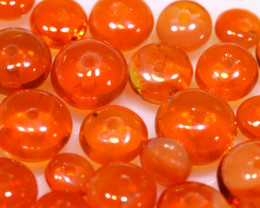 5 CTS -MEXICAN  FIRE OPAL BEADS FOB-2432