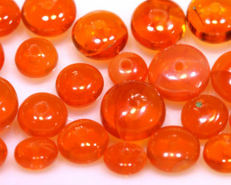 5 CTS -MEXICAN  FIRE OPAL BEADS FOB-2433