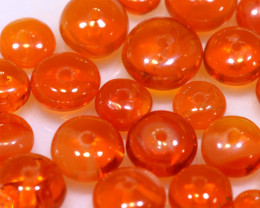 5 CTS -MEXICAN  FIRE OPAL BEADS FOB-2436