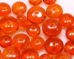 5 CTS -MEXICAN  FIRE OPAL BEADS FOB-2438