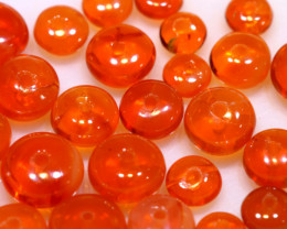 5 CTS -MEXICAN  FIRE OPAL BEADS FOB-2439