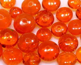 5 CTS -MEXICAN  FIRE OPAL BEADS FOB-2440