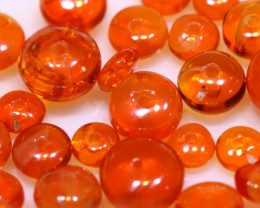 5 CTS -MEXICAN  FIRE OPAL BEADS FOB-2445