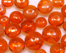 5 CTS -MEXICAN  FIRE OPAL BEADS FOB-2446