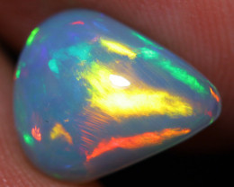 2.18 CT 11X9 MM Broadflash Pattern!! Rare Welo Ethiopian Opal-A104
