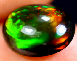 2.19cts Natural Ethiopian Welo Smoked Opal / HM1894