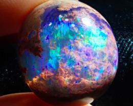 25.93ct Mexican Matrix Cantera Multicoloured Fire Opal