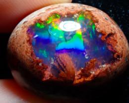 25.32ct Mexican Matrix Cantera Multicoloured Fire Opal