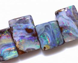 49.16 Carats Boulder Opal Rough Parcel ANO-1280