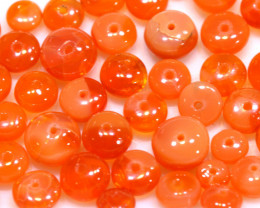 10.00CTS -MEXICAN  FIRE OPAL BEADS PARCEL FOB-2459