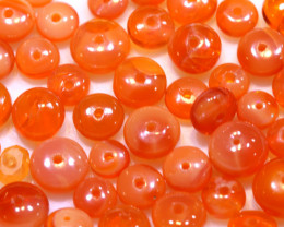10.00CTS -MEXICAN  FIRE OPAL BEADS PARCEL FOB-2460