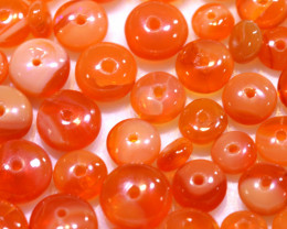 10.00CTS -MEXICAN  FIRE OPAL BEADS PARCEL FOB-2463