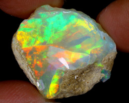 22cts Natural Ethiopian Welo Rough Opal / WR6292