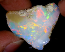 24cts Natural Ethiopian Welo Rough Opal / WR6294