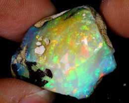 27cts Natural Ethiopian Welo Rough Opal / WR6295