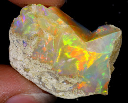 21cts Natural Ethiopian Welo Rough Opal / WR6298