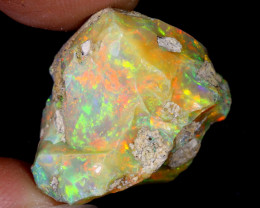 27cts Natural Ethiopian Welo Rough Opal / WR6342