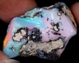 27cts Natural Ethiopian Welo Rough Opal / WR6344