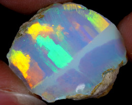 14cts Natural Ethiopian Welo Rough Opal / WR6349