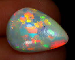 Mosaic Braodflash 3.02Ct Natural Ethiopian Flash Color Welo Opal D0802