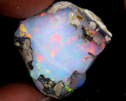 28cts Natural Ethiopian Welo Rough Opal / WR6357