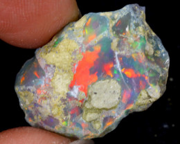 17cts Natural Ethiopian Welo Rough Opal / WR6358