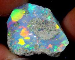 8cts Natural Ethiopian Welo Rough Opal / WR6375
