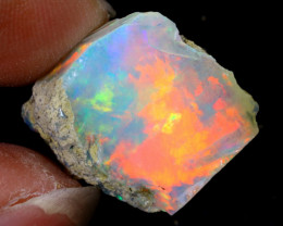 10cts Natural Ethiopian Welo Rough Opal / WR6389