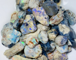 240 CTs Nobby Rough Material With Colours & Potential#138