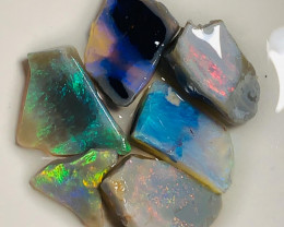 Rough & Rub Bright Seam Opals to Cut