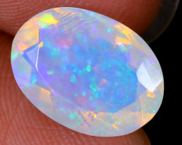 2.79cts Natural Ethiopian Faceted Welo Opal / NY1082
