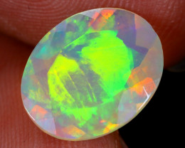 2.27cts Natural Ethiopian Faceted Welo Opal / NY1085