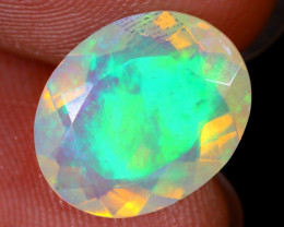 2.33cts Natural Ethiopian Faceted Welo Opal / NY1086