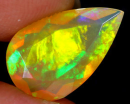 1.72cts Natural Ethiopian Faceted Welo  Opal / NY1089