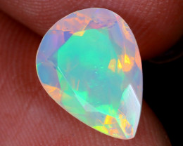 1.67cts Natural Ethiopian Faceted  Welo Opal / NY1113