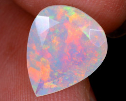 2.55cts Natural Ethiopian Faceted Welo Opal / NY1116