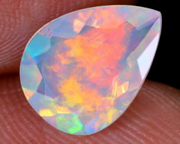 1.52cts Natural Ethiopian Faceted Welo Opal / NY1118