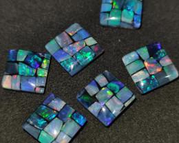 21.85 cts Pedra mosaico Forma quadrado