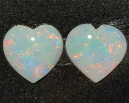 1.05 cts Opala Lapidada Forma coração